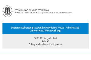 Zebranie wyborcze - 18.11.2019 r.