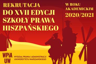 Trwa rekrutacja do XVII Edycji Szkoły Prawa Hiszpańskiego