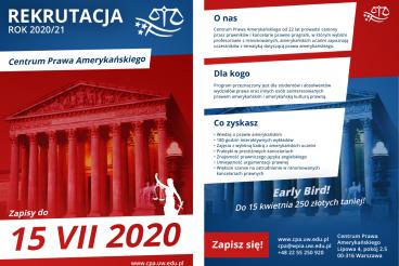 Rekrutacja do CPA 2020/21