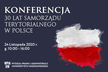 Konferencja 30 lat Samorządu Terytorialnego w Polsce - 24.11
